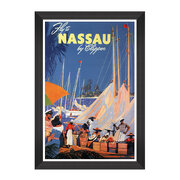 caribbean-travels-framed-print-60x90cm-fly-to-nassau