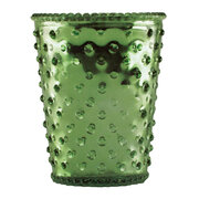 hobnail-glass-candle-chrome-green-evergreen