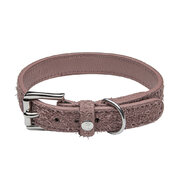 hofgarten-dog-collar-dusty-rose-l