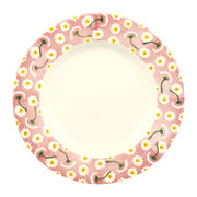 pink-daisy-plate-salad-plate