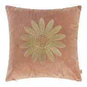 velvet-embroidered-daisy-cushion-pink