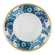 gold-exotic-soup-plate-blue-white