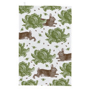 rabbit-cabbage-tea-towel-green