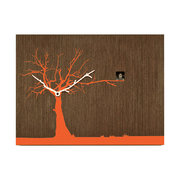 cucuruku-wall-clock-wenge-wood-orange