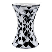 stone-stool-chrome