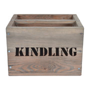 kindling-box-wooden
