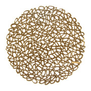 pressed-pebble-round-placemat-brass
