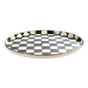 courtly-check-petal-round-tray