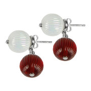 vibrante-earrings-clear-red-small