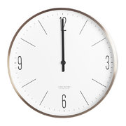 wall-clock-gold-white