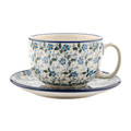 Bunzlau Castle - Breakfast Cup & Saucer - Summer Wind