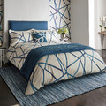 Harlequin - Sumi Indigo Duvet Cover - Super King