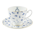 Mrs Moore's Vintage Store - Alice Chintz Teacup & Saucer - White