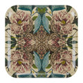 Avenida Home - Patch NYC Flora Tray - Square - Peonies