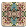 Avenida Home - Patch NYC Flora Coaster - Peonies