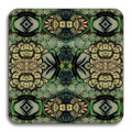 Avenida Home - Patch NYC Floral Coaster - Blue Cluster