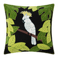Jan Constantine - Tropical Cockatoo Cushion - 46x46cm