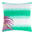 Marinette Saint Tropez - Borabora Cushion - 45x45cm - Emerald/Palm Purple
