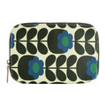Orla Kiely - Primrose Jade Make Up Brush Case