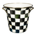 MacKenzie-Childs - Courtly Check Enamel Wine Cooler