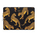 Wouf - Black Leopard Laptop Case