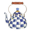 MacKenzie-Childs - Royal Check Tea Kettle