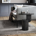ferm LIVING - Insert Side Table - Black Stained