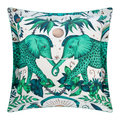 Emma J Shipley - Zambezi Oxford Pillowcase - White - 65x65cm