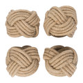 Retreat - Knotted Napkin Ring - Set of 4