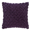 Luxe - Abstract Textured Pillow - 50x50cm - Purple