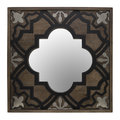 Global Explorer - Carved Wooden Wall Mirror