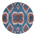 Les Ottomans - Ceramic Ikat Dinner Plate