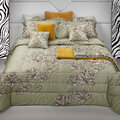 Roberto Cavalli - Zebra Rose Bed Set - Sand