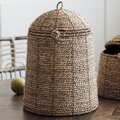 House Doctor - Rama Basket with Lid - Natural - Large