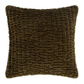 Global Explorer - Abstract Quilted Cushion - 45x45cm - Stone