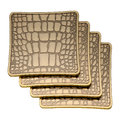 L'Objet - Crocodile Coasters - Set of 4