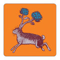 Avenida Home - Puddin' Head - Animaux Coaster - Rabbit