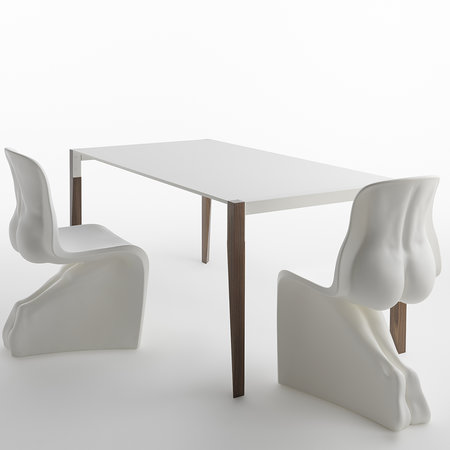 Horm & Casamania - Her Chair - White