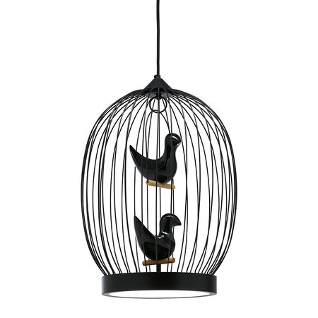 Horm & Casamania - Twee T Ceiling Light - Black - Large
