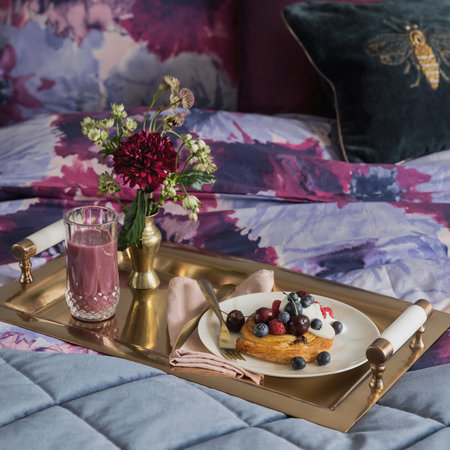 A by Amara - Rose Gold & Marble Tray