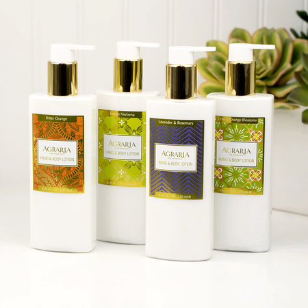 Agraria - Lime & Orange Blossom Hand & Body Lotion