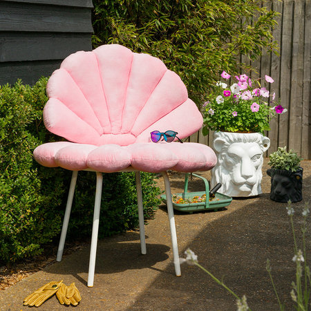 Garden Glory - Shell Water Repellent Seat Pad - Rose