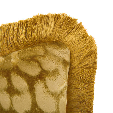 Roberto Cavalli - Sigillo Reversible Cushion - Gold - 60x60cm
