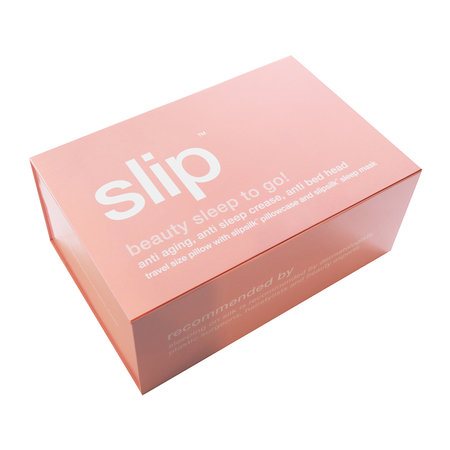 Slip - Beauty Sleep To Go! Travel Set - Pink
