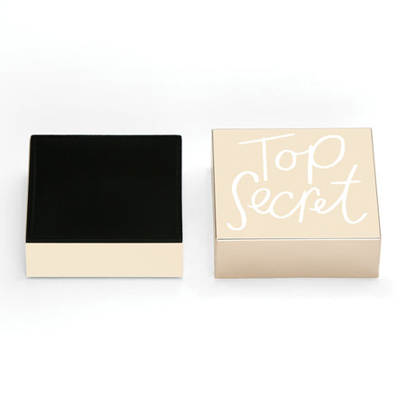 kate spade new york - Boîte à Couvercle All That Glistens « Top Secret »
