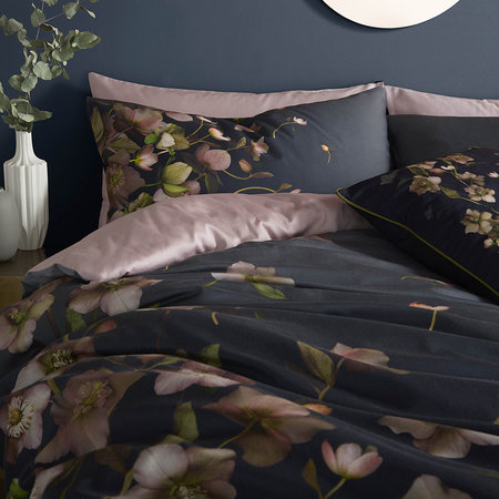 Ted Baker - Arboretum Duvet Cover - Charcoal - UK Double