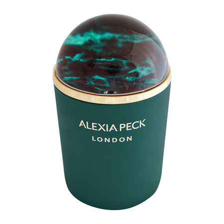 Alexia Peck - London Candle & Paperweight - Amber & Rose