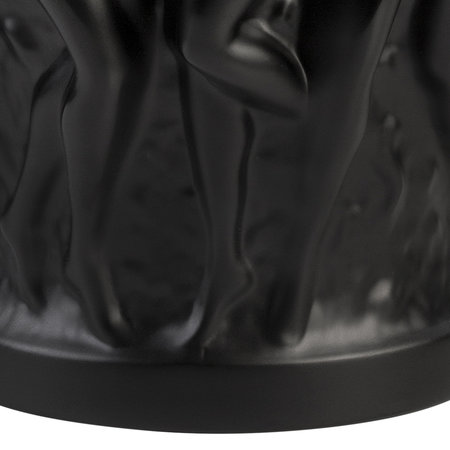 Lalique - Bacchantes Vase - Black - Small
