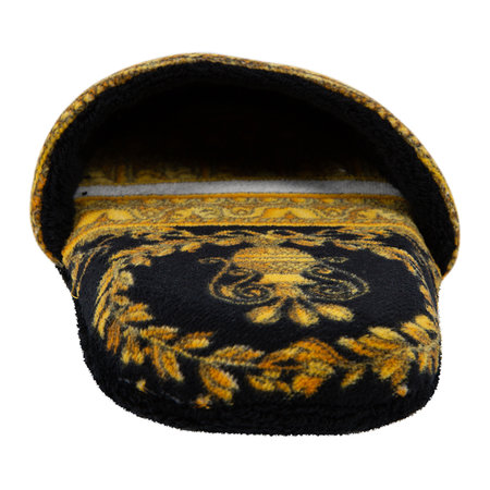 Versace Home - Chaussons I Love Baroque - Noir/Blanc/Or