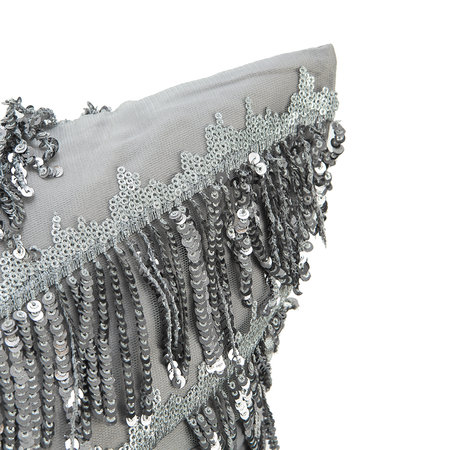 Kylie Minogue at Home - Eliza Pillowcase - Pewter - 50x75cm
